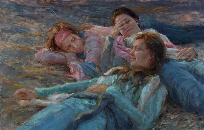 Пейзажи и портреты. Rene Snyman