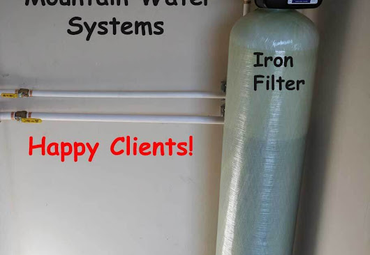 Customer in McDowell County Loves Their New Iron Filter