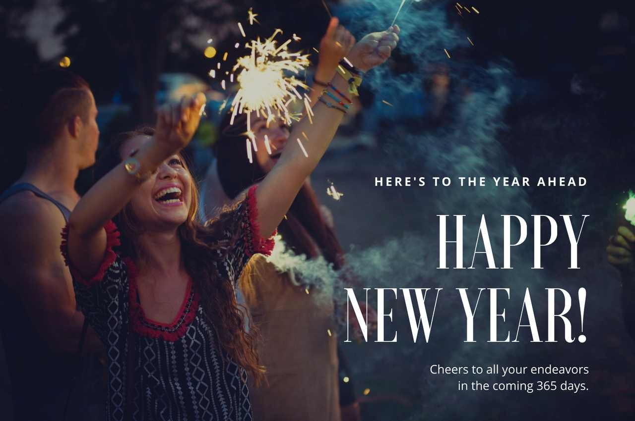 Before I Get Completely Tired, Make A Fool Of Myself, Kick My Way Home And  Pass Out, Let Me Wish My Dear Friend A Very Happy New Year 2018