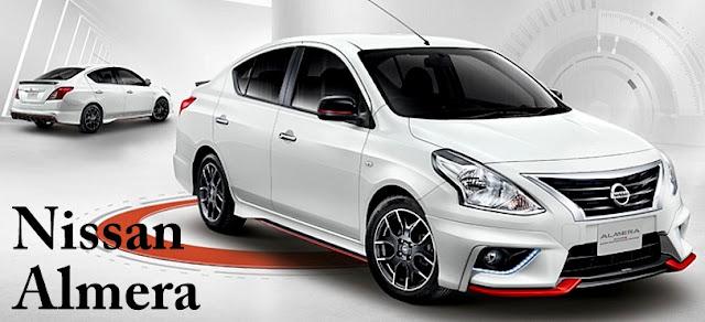 Nissan Almera - 10 Model Kereta Pilihan Rakyat Malaysia 2016