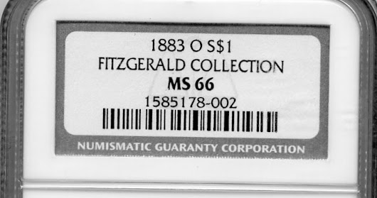 Fitzgerald Collection - Highest Graded 1883-O MS66