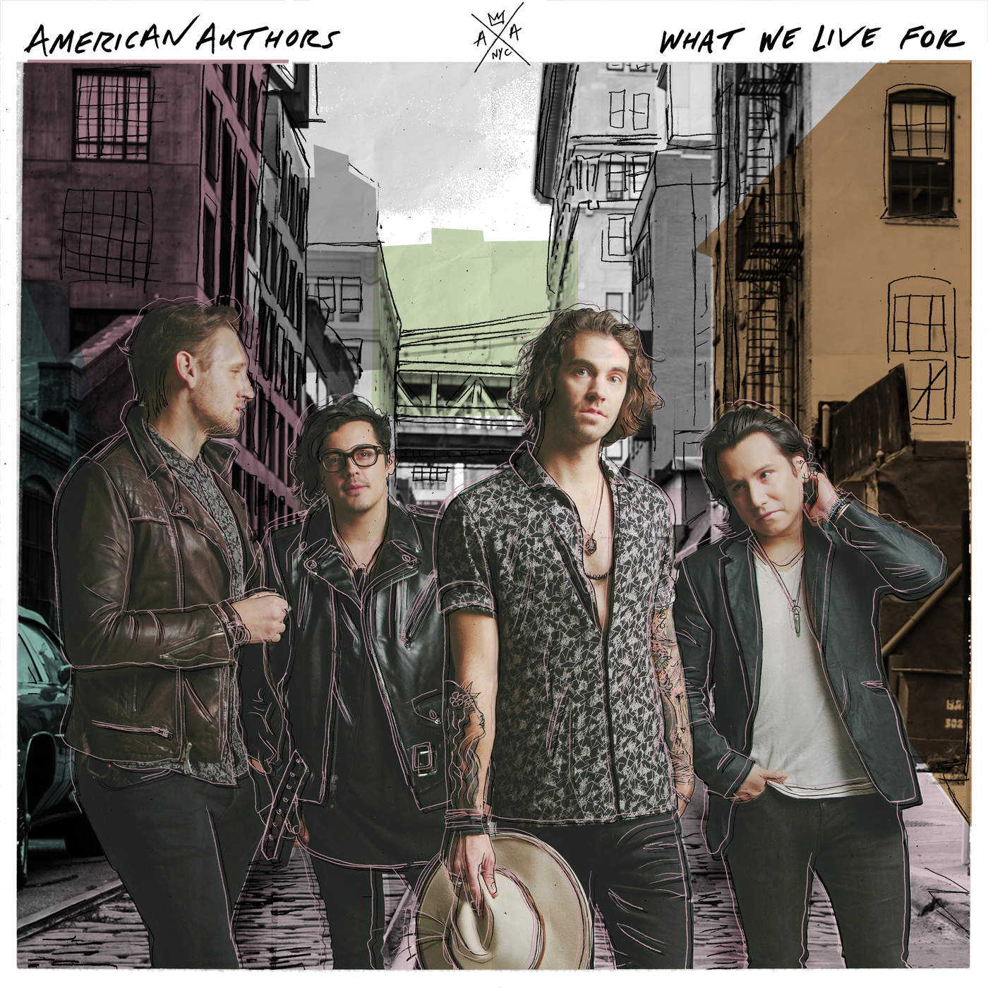 American Authors - What We Live For Cover