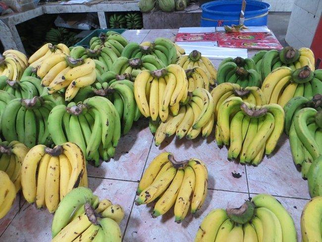 Тайские бананы на рынке