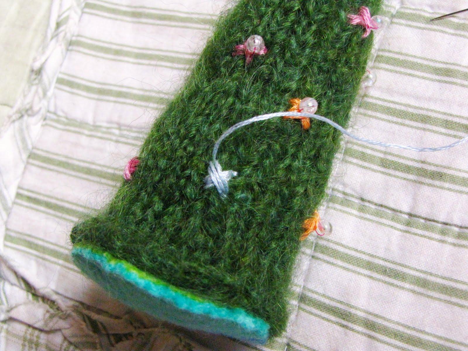 Christmas Tree Knitting Pattern Tutorial