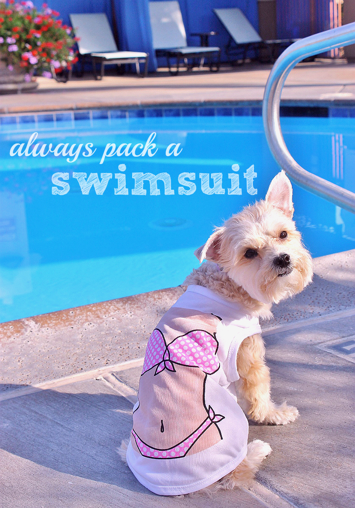 Always pack a swimsuit!  #RoadTripOil #AD