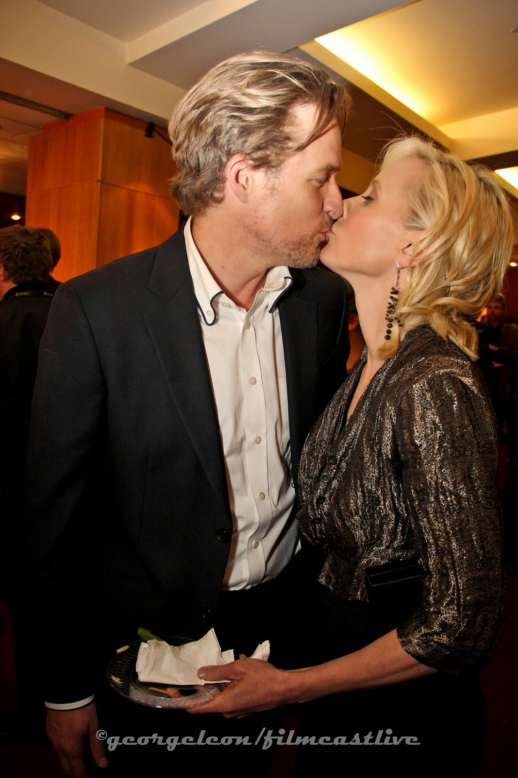 James Tucker, Anne Heche  Kiss © george leon / filmcastlive