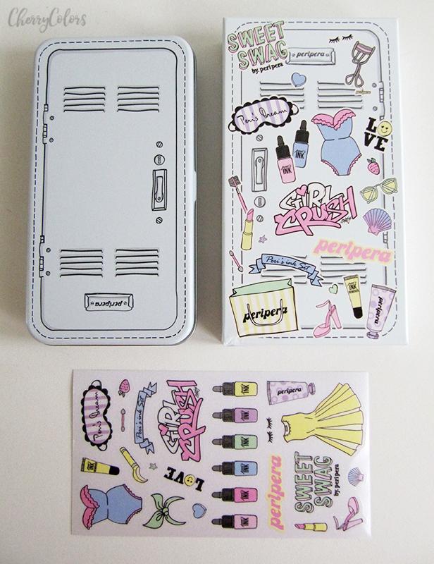Peripera Peri's Ink Minimini Set Girls Cabinet