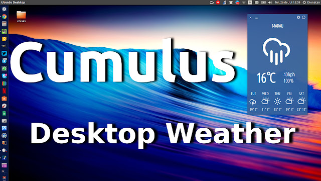 Cumulus Desktop Weather Ubuntu