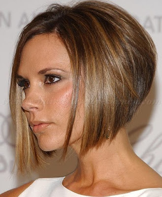 Classic Victoria Beckham bob but with darker shade of blonde