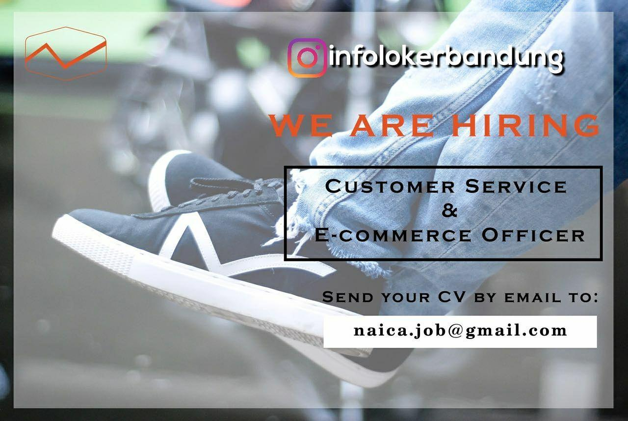 Lowongan Kerja Customer Service & E-Commerce Officer PT. Naica Global Creator November 2017