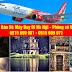 Giá vé máy bay đi Hà Nội tháng 11/2018 hãng Vietjet Air