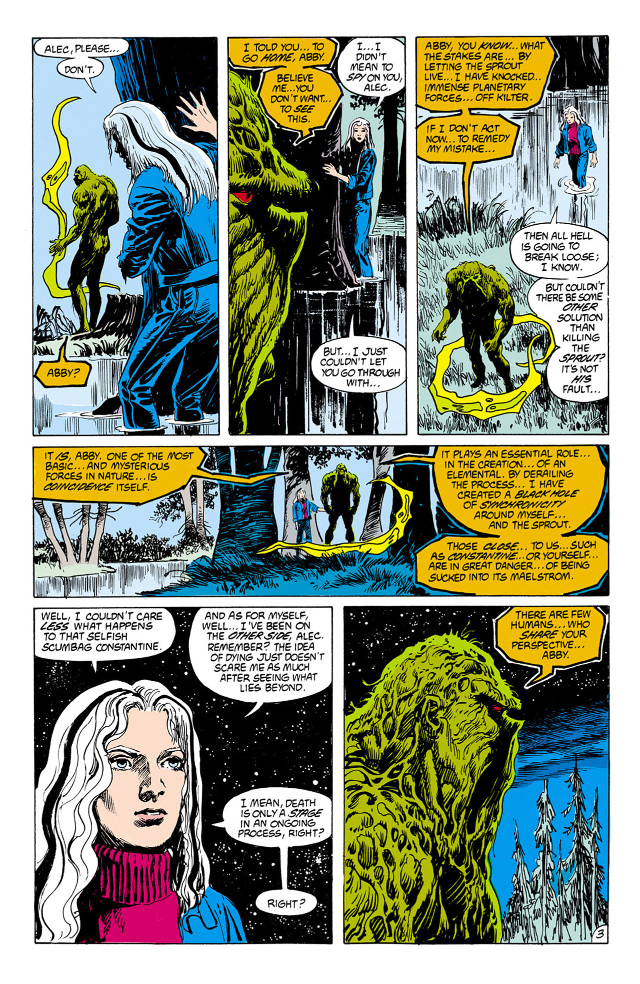 Swamp Thing (1982) Issue #75 #83 - English 4