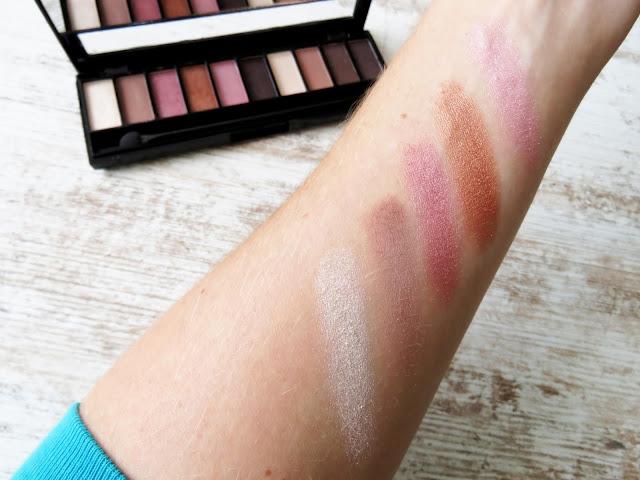 saveonbeautyblog_gabriella_salvete_palette_10_shades_rose_swatch