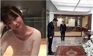 Phim Sao Hàn 23/10: Sulli lại thả rông ngực, Si Won viếng vua Thái Lan-2016
