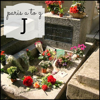 Paris A to Z: J is for Jim Morrison's Grave