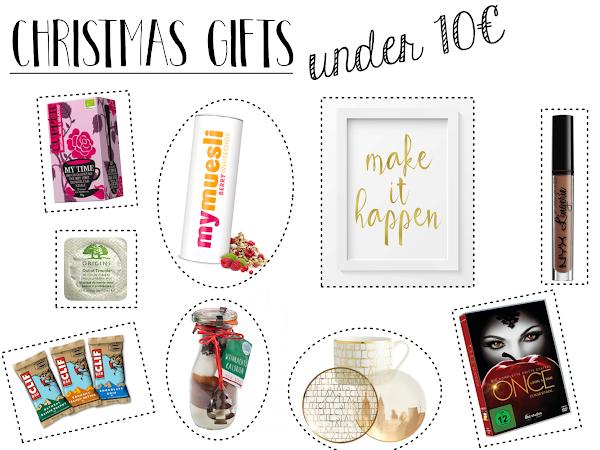 Christmas Gift Guide 2016 - Geschenkideen unter 10, 30 und 50€