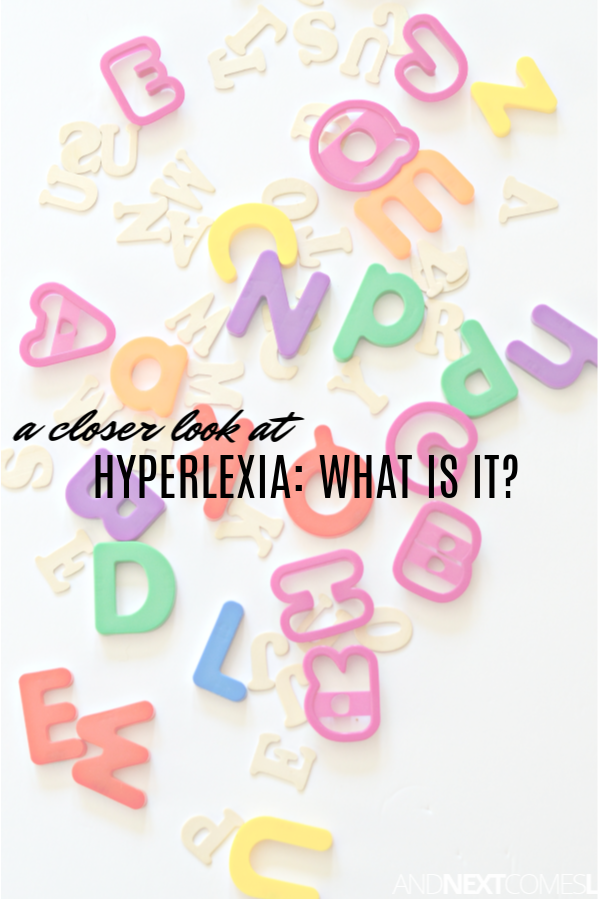 What is hyperlexia? Let's take a closer look