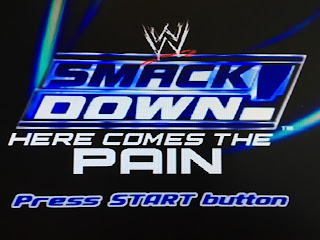 WWE Smackdown! Here Comes the Pain - Start Screen