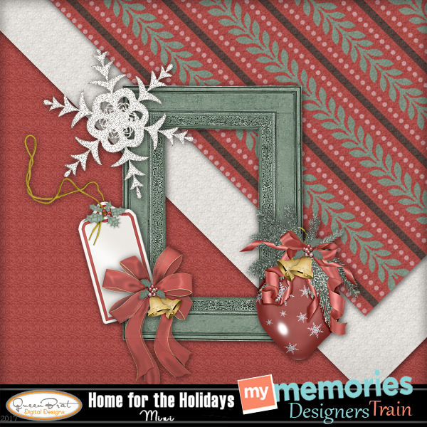 Merry Christmas from the My Memories Blog Train Designers!