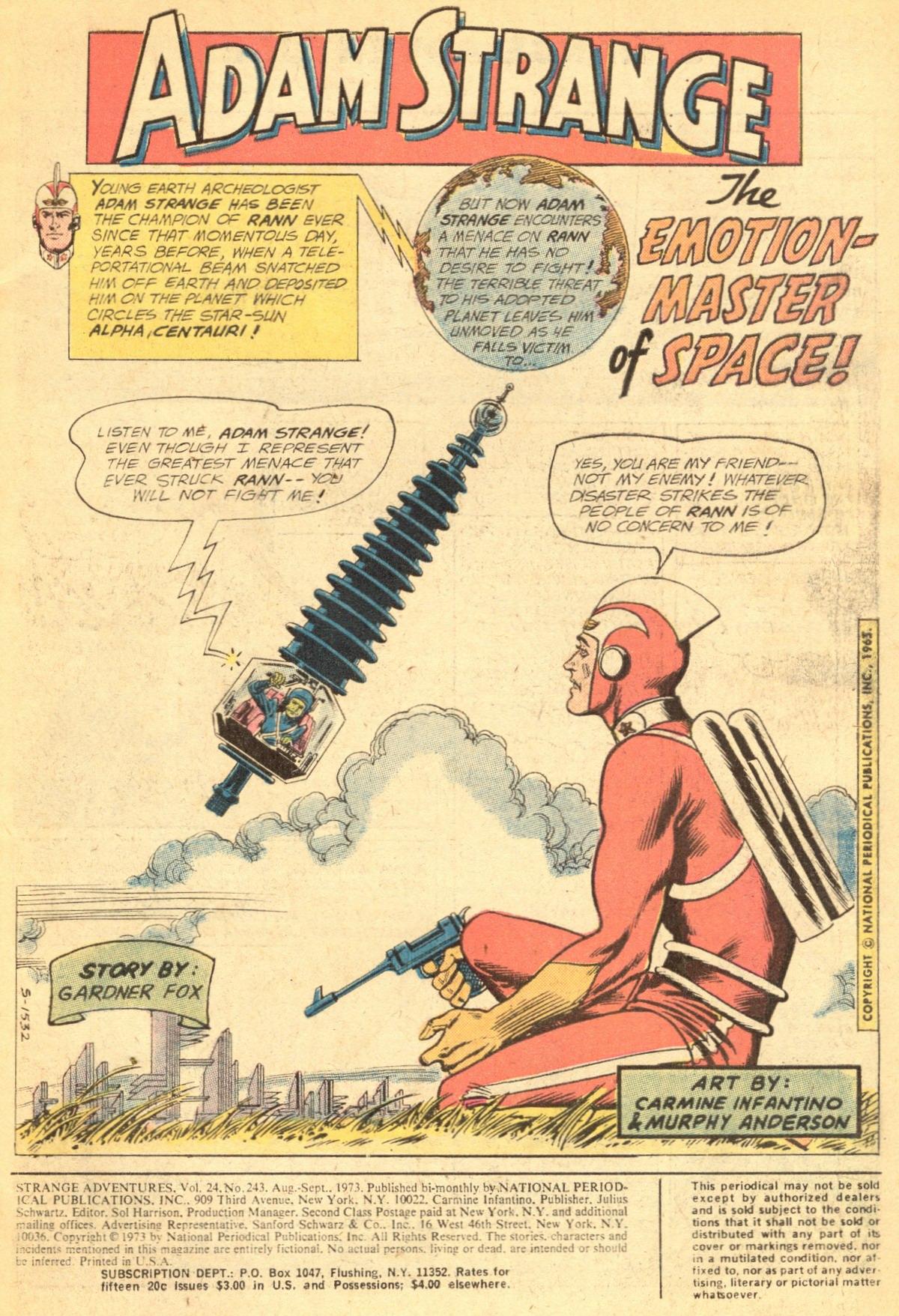 Strange Adventures (1950) issue 243 - Page 3