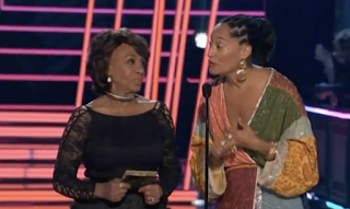 VIDEO: Standing O for Maxine Waters at MTV Awards