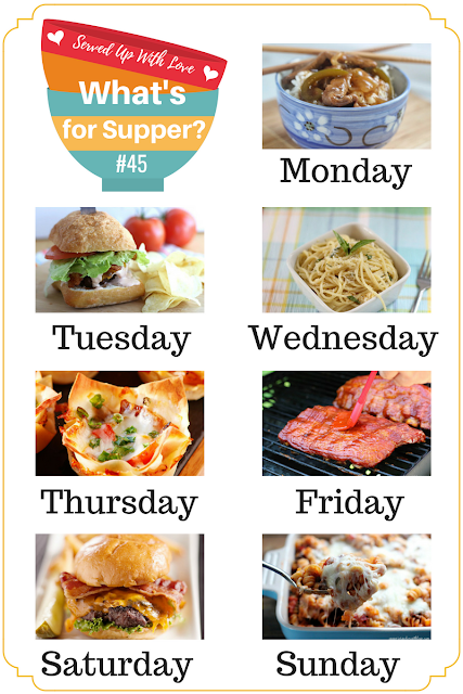 Don't stress over supper this week, What's for Supper Sunday is here to save your week. Recipes this week include Green Pepper Steak, Pizza Casserole, Homemade Steakburgers and more.