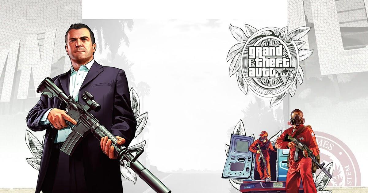 GTA V Artwork Wallpaper 2 - Cool Games Wallpaper