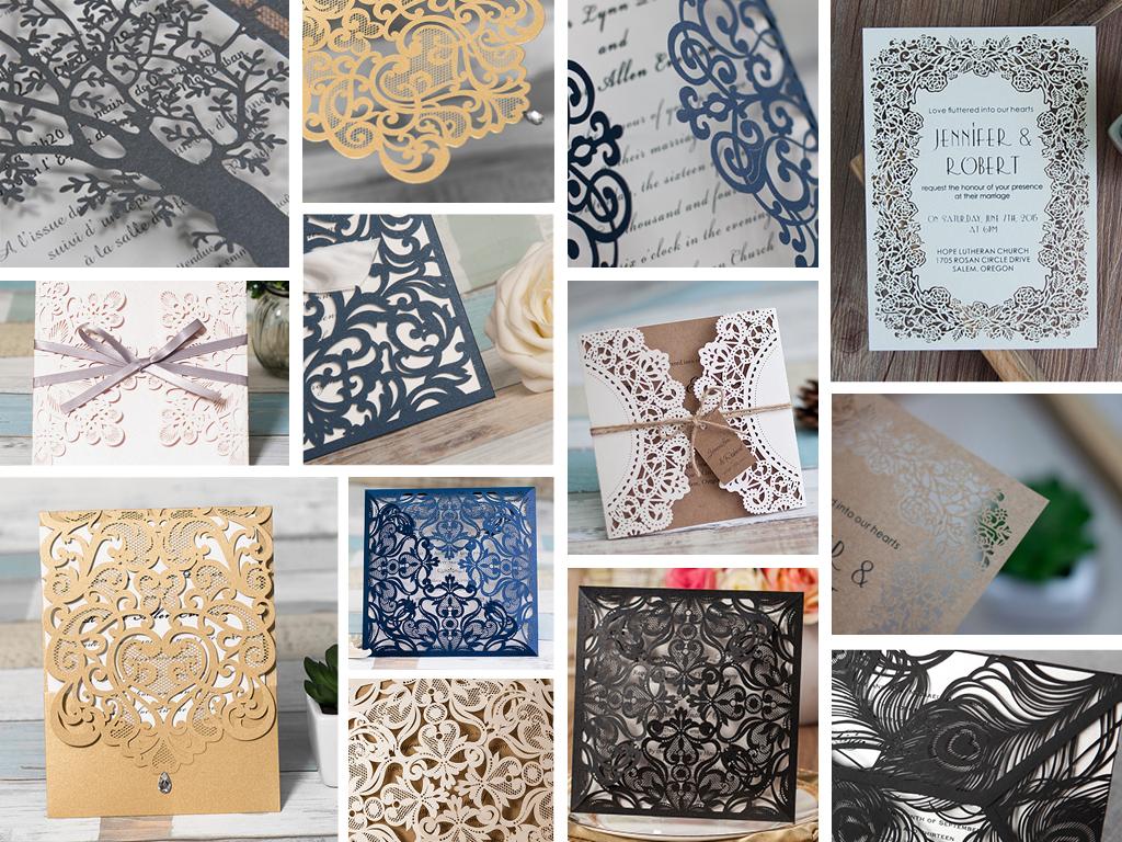 Studio Sol Invitations and Design Dubai NEW Laser cutting