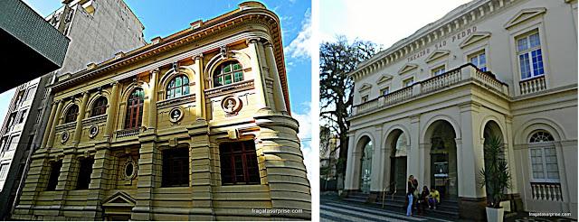 Biblioteca Pública e Teatro São Pedro - Porto Alegre - RS