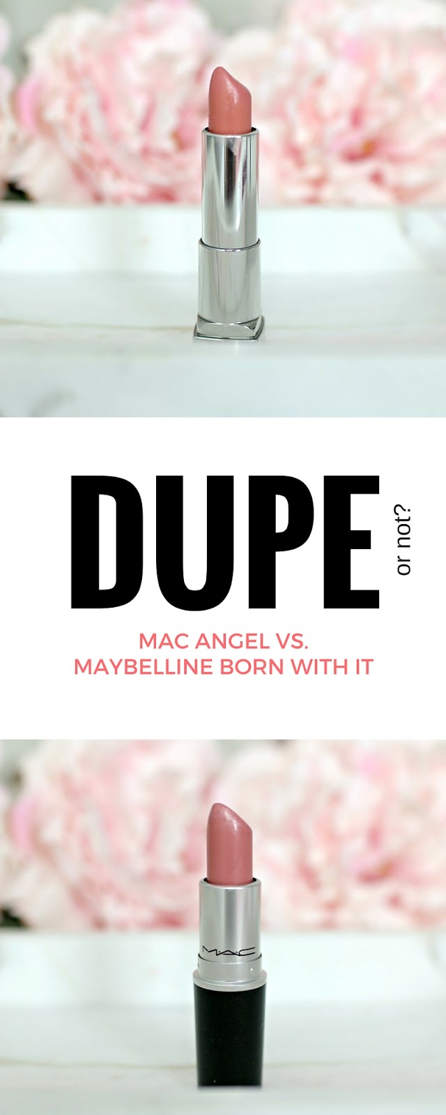 Beauty Blogger In Atlanta: Dupe? MAC Angel Vs