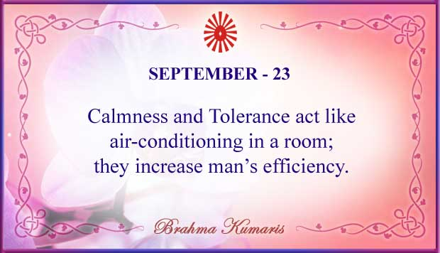 Thought For The Day September 23