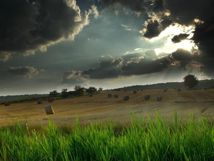 bulut manzaralı arazi resimleri