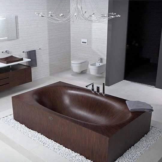 تصميمات ستغير مفهومك للحمامات