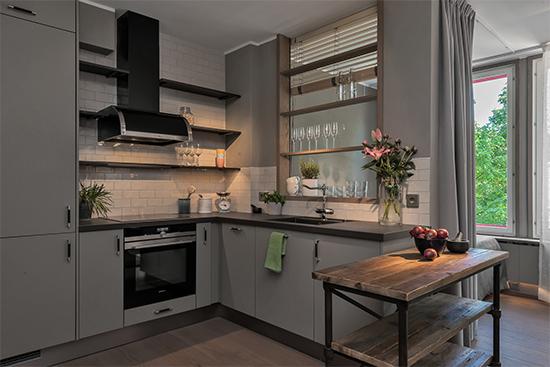 sala decorada, cozinha americana, quarto e sala, a casa eh sua, acasaehsua, apartamento pequeno, decoração moderna