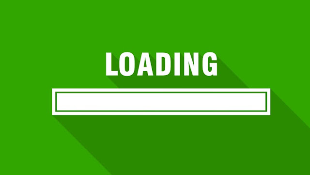loading bar blogger