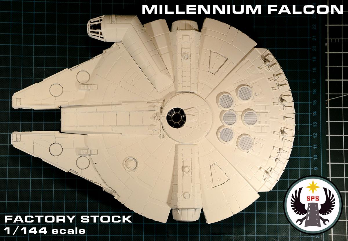 Millennium Falcon [Factory Stock] Part 1: Research