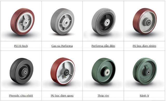 Yêu cầu báo giá bánh xe PU Colson www.banhxepu.net