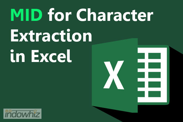Menggunakan Rumus Mid: Meng-Extract Huruf Dari Text Di Ms Excel