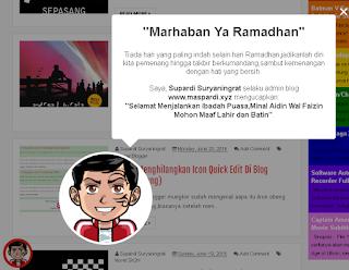 Cara Membuat Widget Animation Ucapan Ramadhan dan Idul Fitri