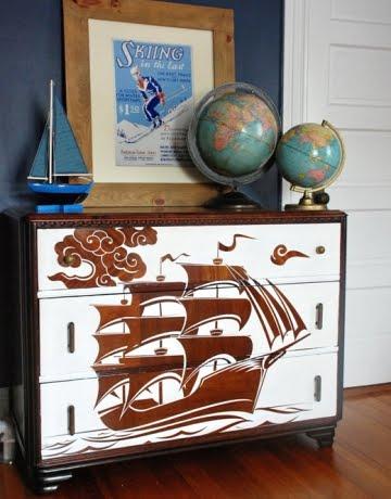 stencil furniture