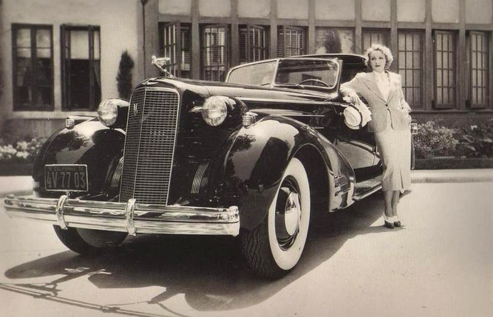 Classic Stars and Luxury Cars – 24 Vintage Photos of Celebrities ...