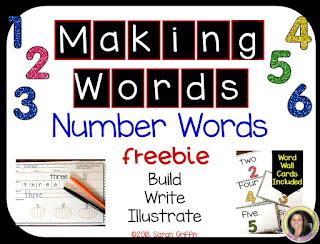 https://www.teacherspayteachers.com/Product/Making-Words-Number-Words-FREEBIE-4051717