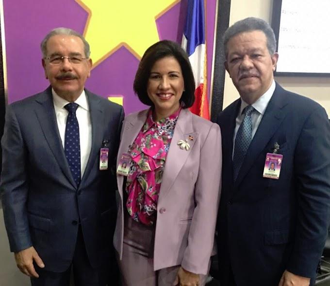 Margarita afirma en NY es tiempo de que gobierne una mujer, responsabiliza a Danilo y Leonel por continuidad del PLD