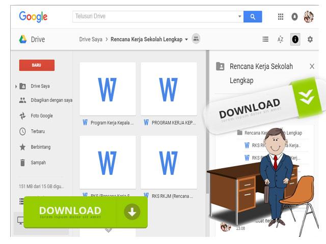 Download Contoh Program Kerja Guru Wali Kelas lengkap dengan Aplikasi