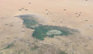 Jezioro Czad - wydmowe (Google Maps)