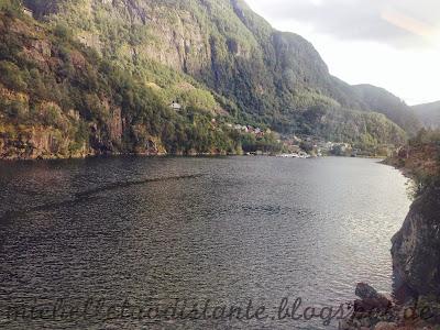 Viajar de trem na Noruega