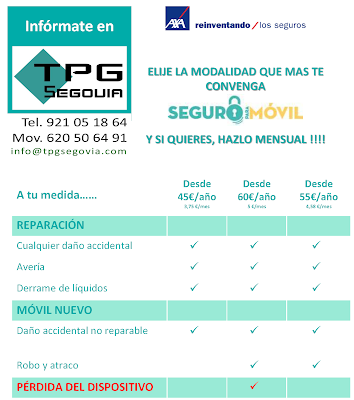 SEGUROS PARA MOVILES