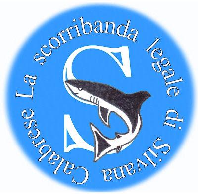 La scorribanda legale simbolo logo Silvana Calabrese squalo