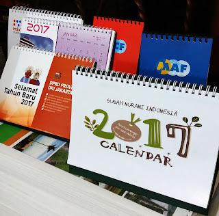 Cetak Kalender Meja Paling Murah di Jakarta 24 Jam