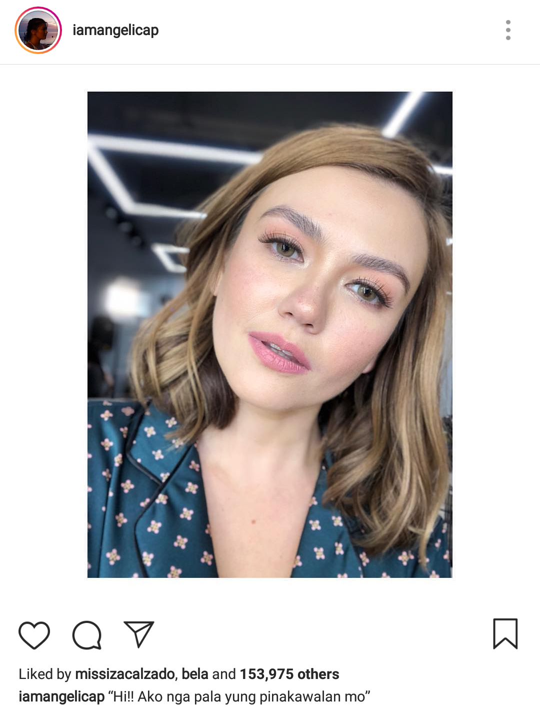 Fashion Pulis Insta Scoop To Whom Is Angelica Panganiban